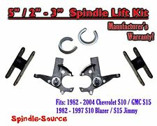"1982 -05 Chevrolet S-10 S10 / GMC S-15 Sonoma Blazer Jimmy 5"" / 2-3"" Lift Kit"