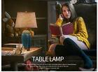 Retro 1 Light Cloth Lampshade+Ceramic Height 62CM Decoration Table Light/Lamp