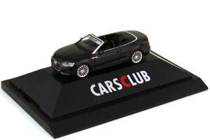 à Condition De 1:87 Audi A5 Cabriolet F5 Noir - Voitures Club - Hcc-modell 2017 - Herpa 928304