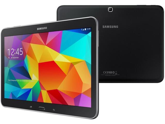"Samsung Galaxy Tab 4 SM-T535 10.1"" Tablet WiFi+4G LTE Voice Calling Black Unlock"