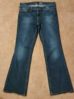 Tommy hilfiger Women's Jean's Dark Tint Size 8s Used in Very Good Condition