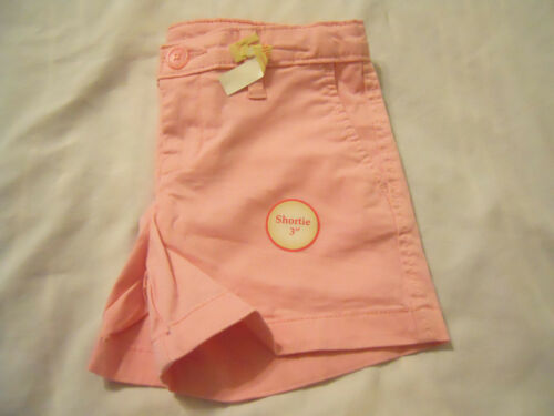 Girls Shorts Bermuda Shortie Midi Khaki Chino Solid Print Kids