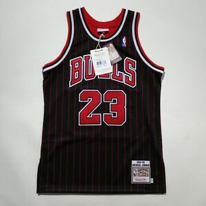 new style e49e6 a51ea 100% Authentic Michael Jordan Mitchell & Ness Pinstripe 95 ...
