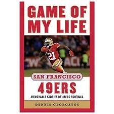 nfl book SAN FRANCISCO   49ERS - GAME OF MY LIFE   AMERICAN football   uk post