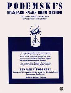 Podemski-039-s-Standard-Snare-Drum-Method-Paperback-by-Podemski-Benjamin-COP