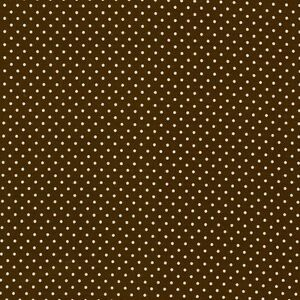 Baumwollstoff-Swafing-Judith-Oko-Tex-Standard-100-Tupfen-dunkelbraun-148cm