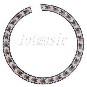 New-Soundhole-Rosette-Inlay-Acoustic-Guitar-Rosette-Wood-Parts