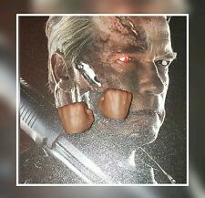 1/6 Hot Toys Terminator Genisys T-800 Pair Of Closed Fists MMS307 *US Seller*