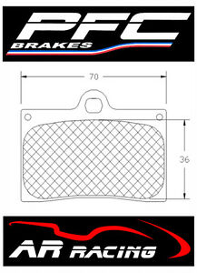 Performance-Friction-Race-Brake-Pads-95-Comp-to-fit-Yamaha-YZF-R1-1998-2006