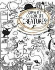 Draw It! Color It! Creatures by Houghton Mifflin Harcourt (Paperback / softback, 2016)