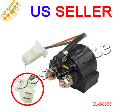 Zoom Zoom Parts Starter Relay Solenoid for Honda TRX250 TRX 250 Fourtrax 1985 1986 1987 NEW