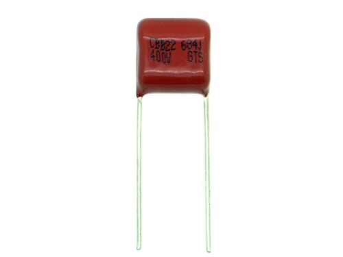 Z611 1x 0,68µF 400V 684 680nF,Metall Film Folien,Kondensator,Polypropylen