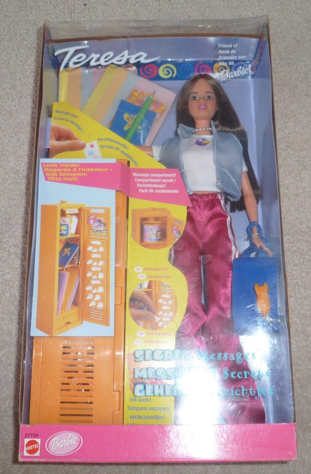 1998 Barbie messaggi segreti Teresa Bambola mai tolto dtuttia  scatola.  design semplice e generoso