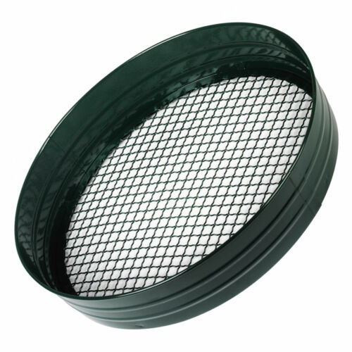 Metal and Plastic Gardening 1//2 Garden Riddle Sieve Mesh 1//4 and 3//8 inch