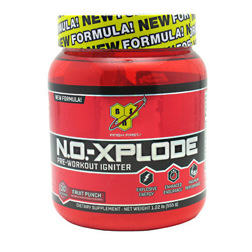 BSN N.O XPLODE PRE WORKOUT IGNITER 30 SERVINGS DISCOUNTED LOW PRICE BRAND NEW