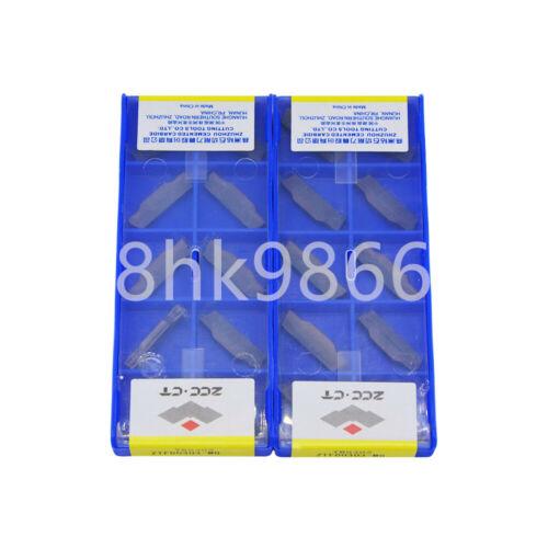 10pcs ZCC.CT ZTFD0303-MG YBG302 NEW Carbide Inserts