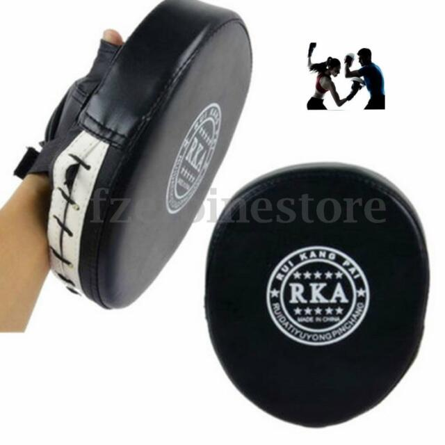 1Pc Black Boxing Mitt Sparring Training Target Punch Pad Glove MMA Karate Kick