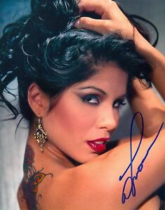 Image Is Loading Alexis Amore Model Adult Film Star Signed Autograph