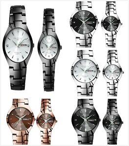 KINGNUOS-Couples-watch-waterproof-quartz-luminous-calendar-casual-steel-belt