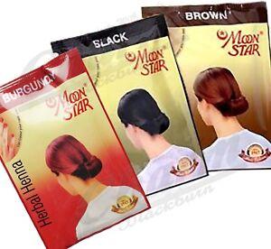 Moon Star Herbal Henna Hair Dye Colour Beard Nails Mendi Mendhi