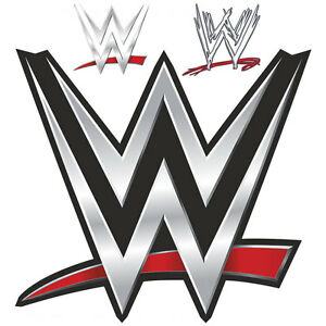 Image Is Loading WWE LOGO Bedroom Wall STICKERS Wrestling Original Old