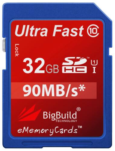 32GB Memory card for Blackmagic Design Pocket Cinema CamcorderSD SDHC New