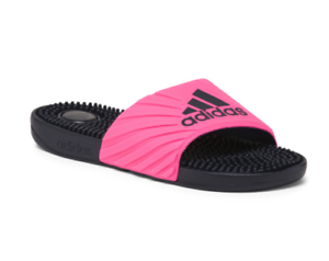 2c808103ce7 Image is loading NEW-ADIDAS-VOLOOSSAGE-PINK-SOCCER-SLIDE-SANDALS-WOMENS-
