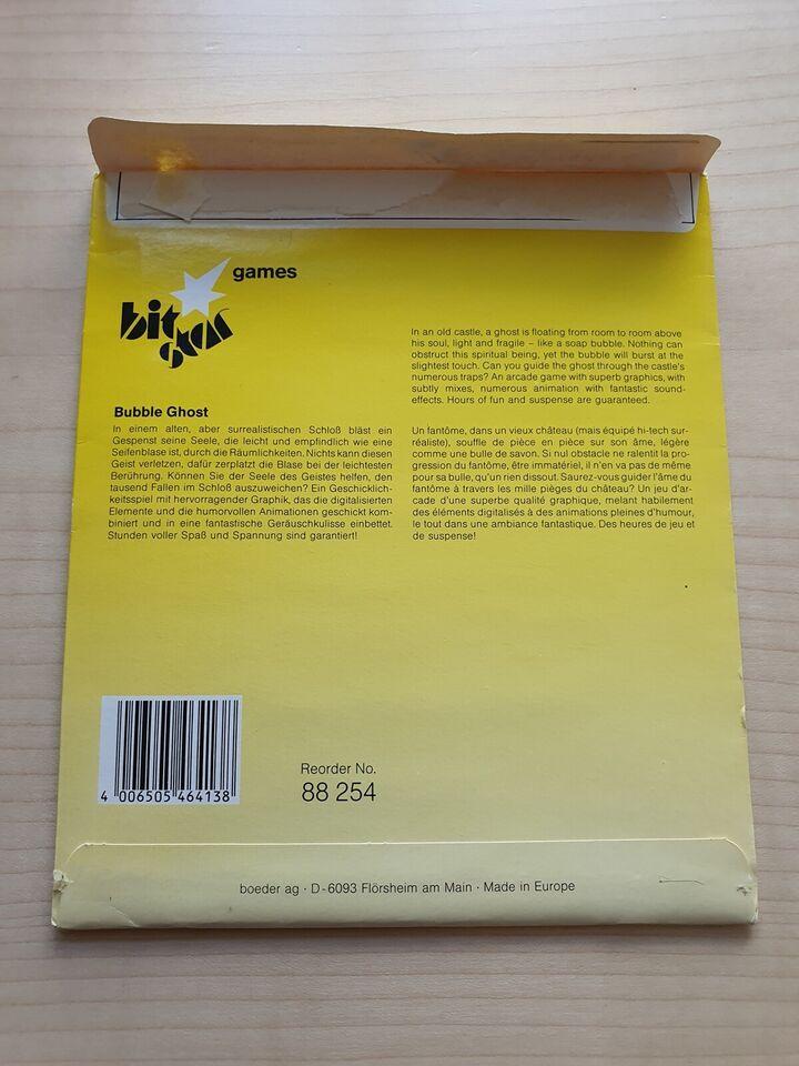 Bubble Ghost [Disk], Commodore 64