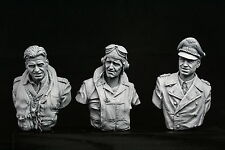 200mm 1/9 ASSO combattente Seconda Guerra Mondiale V-Busto Set, RAF, USMC Distribuzione e della Luftwaffe