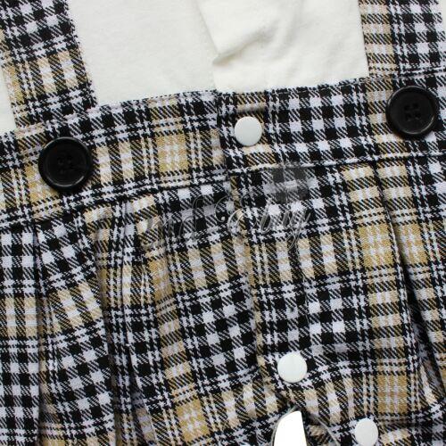 Romper Suit Newborn Baby Boy Kids Shirt Tops Pants Clothes Outfits Gentleman Set