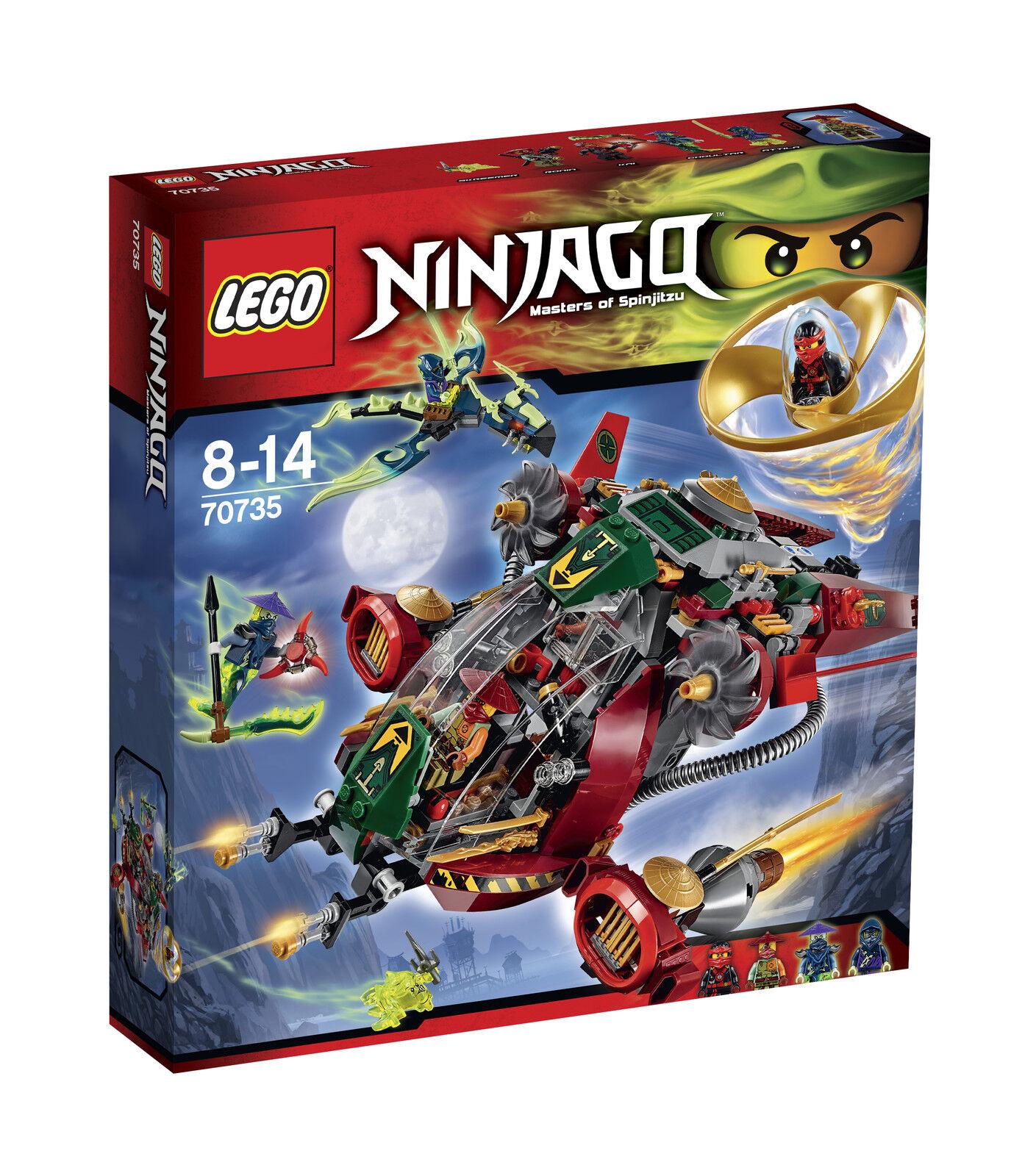 LEGO ® Ninjago ™ ™ ™ 70735 ronin r.e.x. nouveau OVP New MISB NRFB 609e21