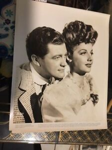 Details about Ann Sheridan,Dennis Morgan,Shine on Harvest Moon 1944 8x10  original B/W Photo-o