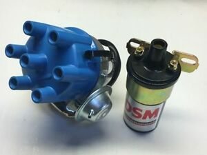 Ford-6-250-2v-225-pursuit-6-cyl-electronic-distributor-and-coil-and-leads
