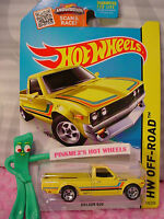 2015 Hot Wheels Datsun 620 Pickup Truck 125∞kmart Exclusive Yellow∞