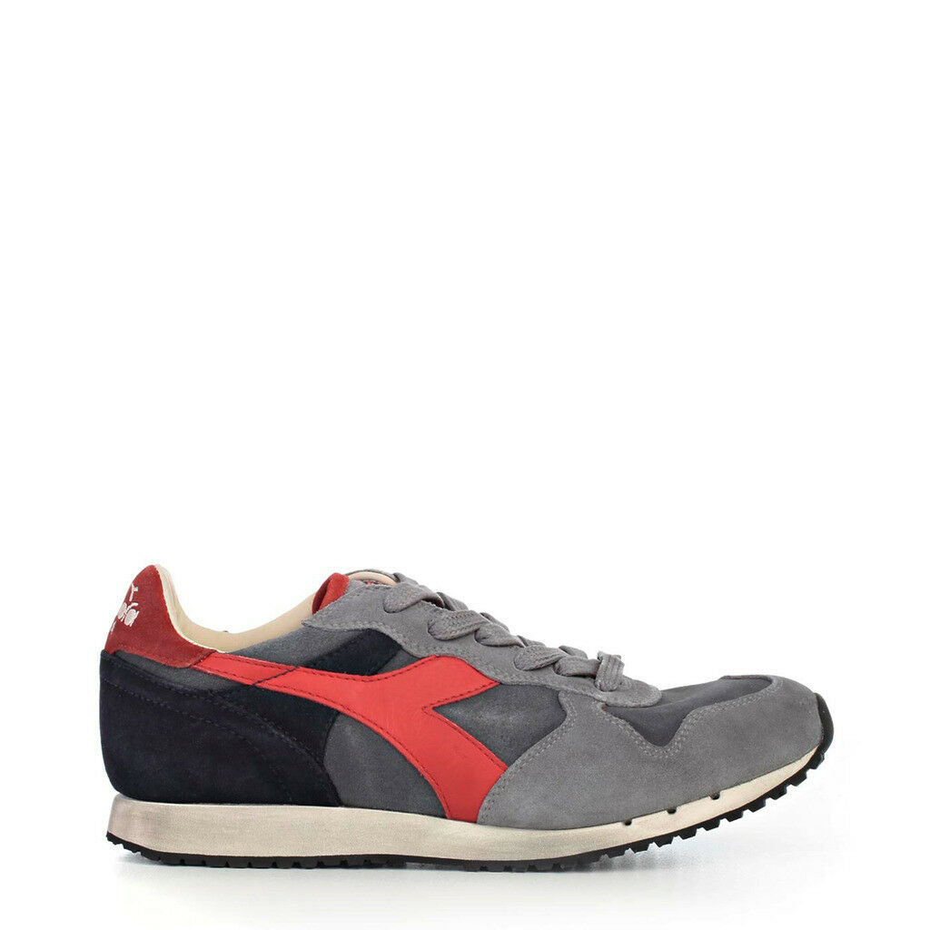 zapatos DIADORA hombres TRIDENT_S_SW_C6364_azul-gris HERITAGE PELLE SCAMOSCIATA