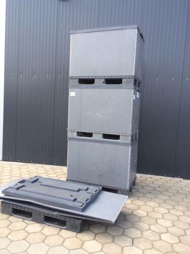 Palettenbox Eurobox LagerBox Plastic pallet boxes Paloxen !Top 2.Wahl 10 stk