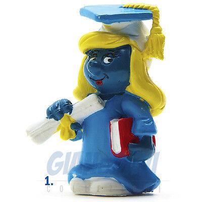 Di Animo Gentile Puffo Puffi Smurf Smurfs Schtroumpf 2.0151 20151 Graduation Puffetta Laureata 1a