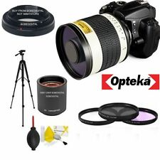 F/6.3 HD TELEPHOTO ZOOM LENS 500-1000MM FOR CANON EOS REBEL T3 T3I T5 T5I T2 T6