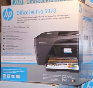 Details about HP OfficeJet PRO 6978 e-All-In-One Wireless Inkjet Color  Printer Copy Scan Fax