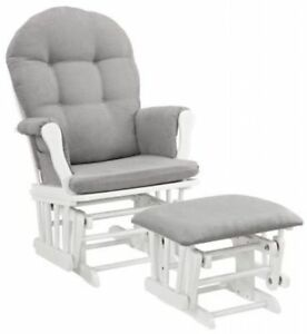 Superior Image Is Loading Glider Ottoman Furniture Nursery Chair Baby Rocking Set