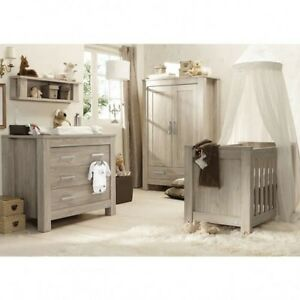 Image Is Loading Babystyle Bordeaux By Charnwood 3 Piece Furniture Set
