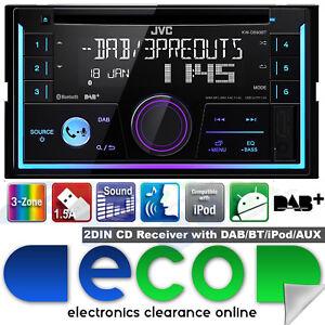 jvc kw db93bt dab dab bluetooth cd mp3 2 din car stereo. Black Bedroom Furniture Sets. Home Design Ideas