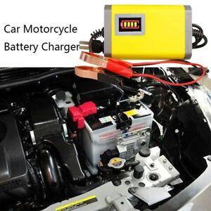 1pc-12V-2A-Caricabatteria-per-auto-Batterie-per-moto-Adattatore-di-carica