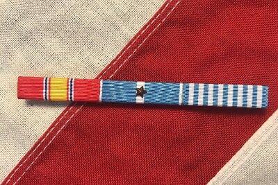Forces serving in Korea Korean War Service Ribbon Bar Set earned by U.S UN