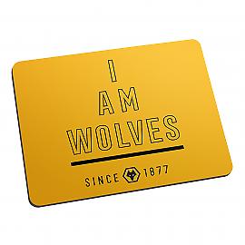 Wolverhampton Wanderers F.C - Personnalisé Tapis De Souris (i am)  </span>