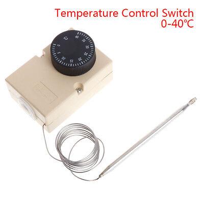 0-40℃ Temperature Control Switch Capillary Thermostat Auto Sensored Switch