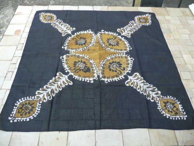foulard vintage coton