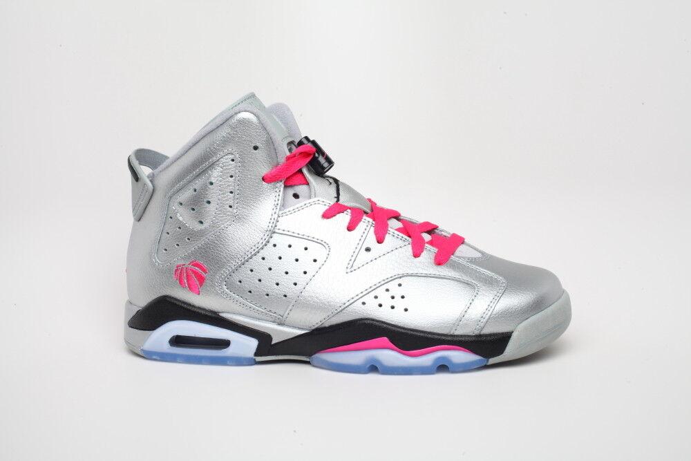 Nike air jordan 6 vi san valentino 543390 009 air max bg gs sz 7
