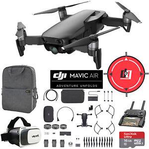 DJI-Mavic-Air-Fly-More-Combo-Onyx-Black-Drone-Mobile-Go-Pack-VR-Set-Landing-Pad