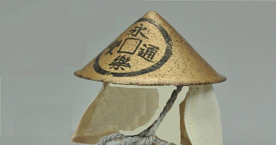 Poptoys Japanese Oda Nobunaga Army Ashigaru Drummer - 1 6th Scale Helmet